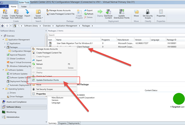 Updating Configuration Manager Client Package with Client