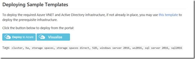 SQL Server 2016 Failover Cluster Instances in Azure – Cloud